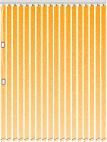 Lamellenvorhang rechteckig